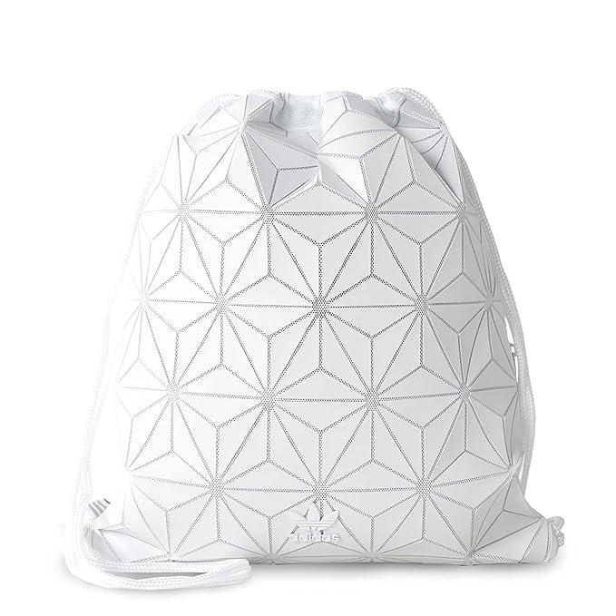 adidas Originals 3D White Geographic Shapes Gym Sack Bag BP ...