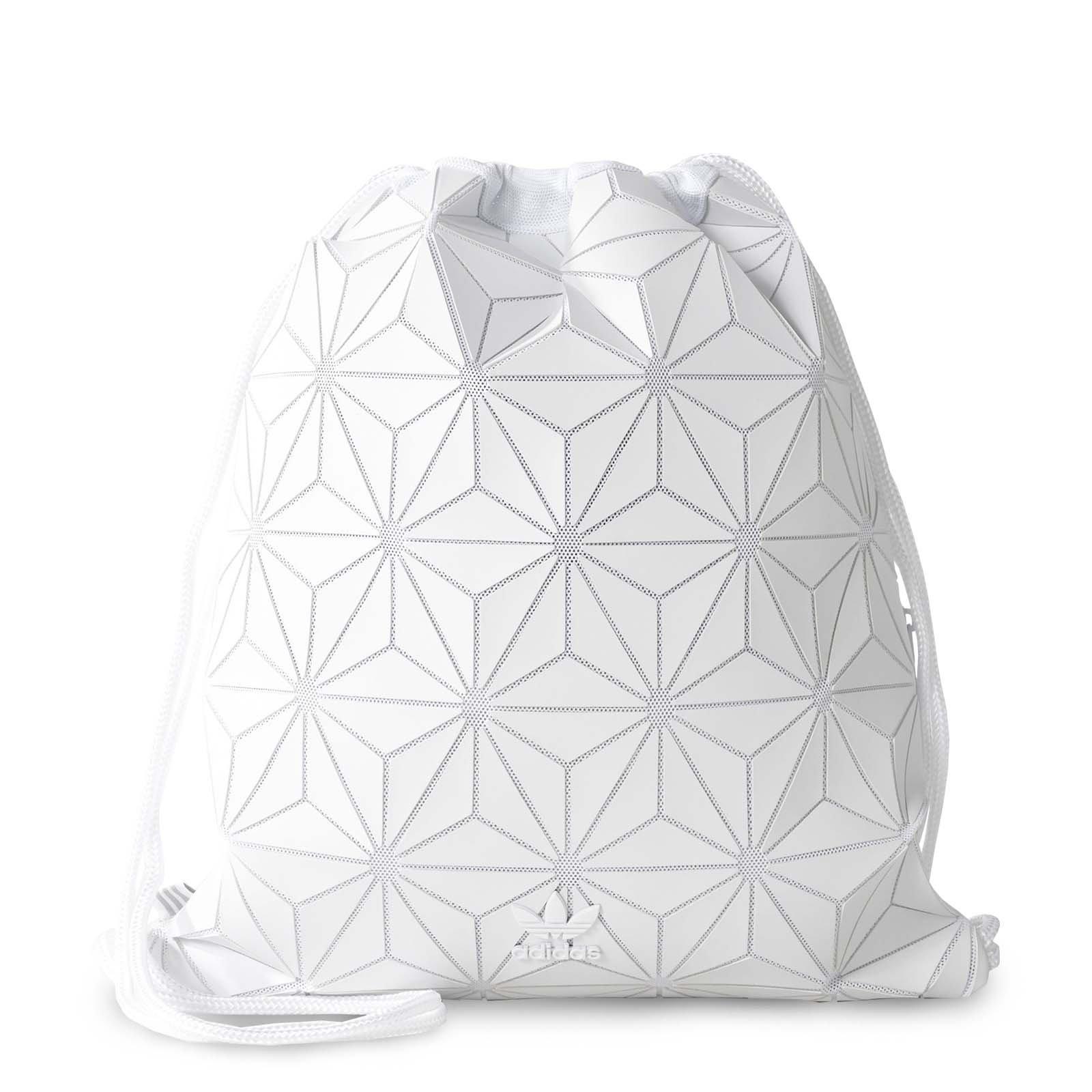 adidas Originals 3D White Geographic Shapes Gym Sack Bag BP BJ9572