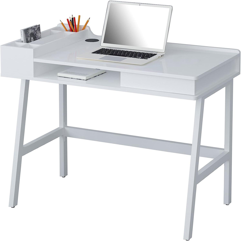 Computertisch Computerschreibtisch PC Home Office Weiß CT-3534A//2184 SixBros