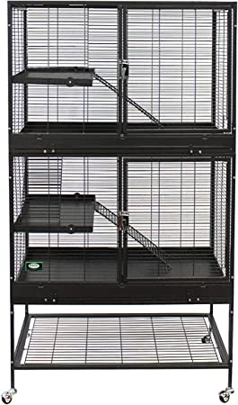 Durable All-Metal Mansion Cage for