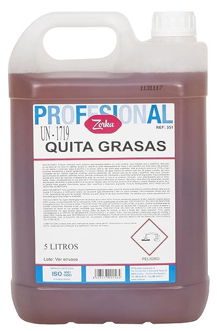 Zorka Quita Grasas Profesional - 5000 ml