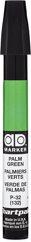 The Original Chartpak AD Marker, Tri-Nib, Palm Green, 1 Each (P32)