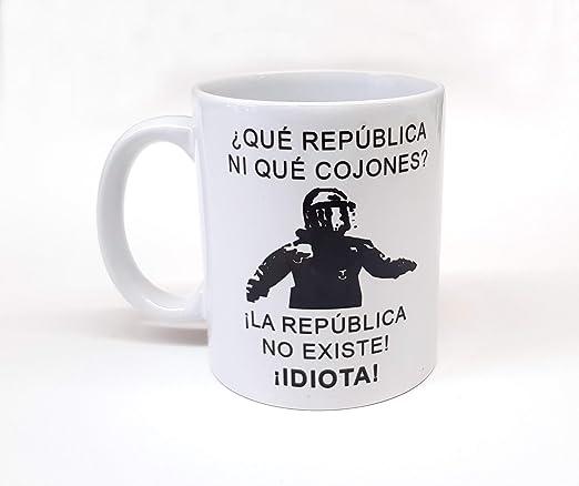 Taza Personalizada Frase de Moda mosso de escuadra La república no ...