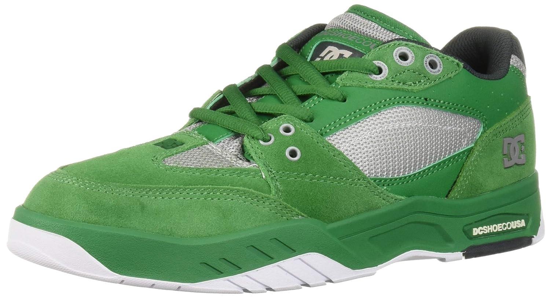 Vert DC chaussures Men's Maswell Low Top baskets chaussures noir WHT Tru rouge 44.5 EU