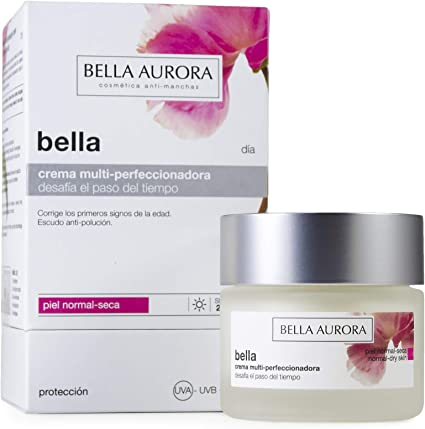 Bella Aurora Bella Crema Facial Día Hidratante Mujer Anti-Edad para Piel Normal o Seca Tratamiento para la Cara Anti ...