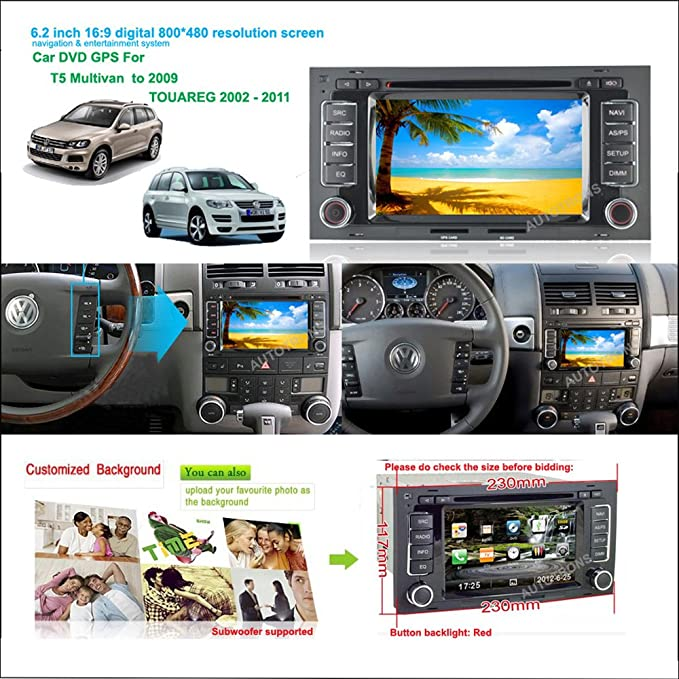 amazon com witson hd car radio dvd navigation for vw volkswagen rh amazon com Magnavox DVD Manual Toshiba Manuals DVD