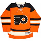 e5b4c3644 Reebok Philadelphia Flyers NHL Youth Orange Official Alternate 3rd Premier  Jersey
