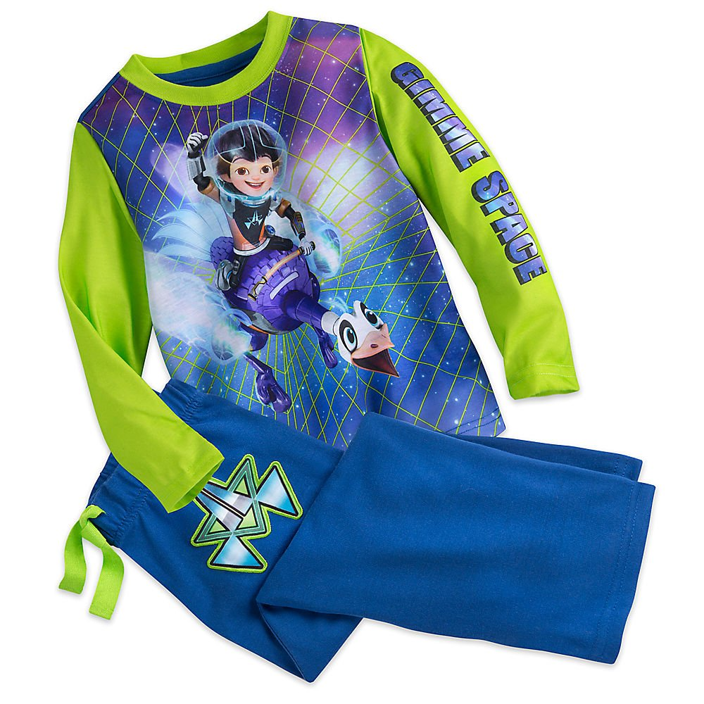 Disney Boys Miles from Tomorrowland Sleep Set Pajamas Blue