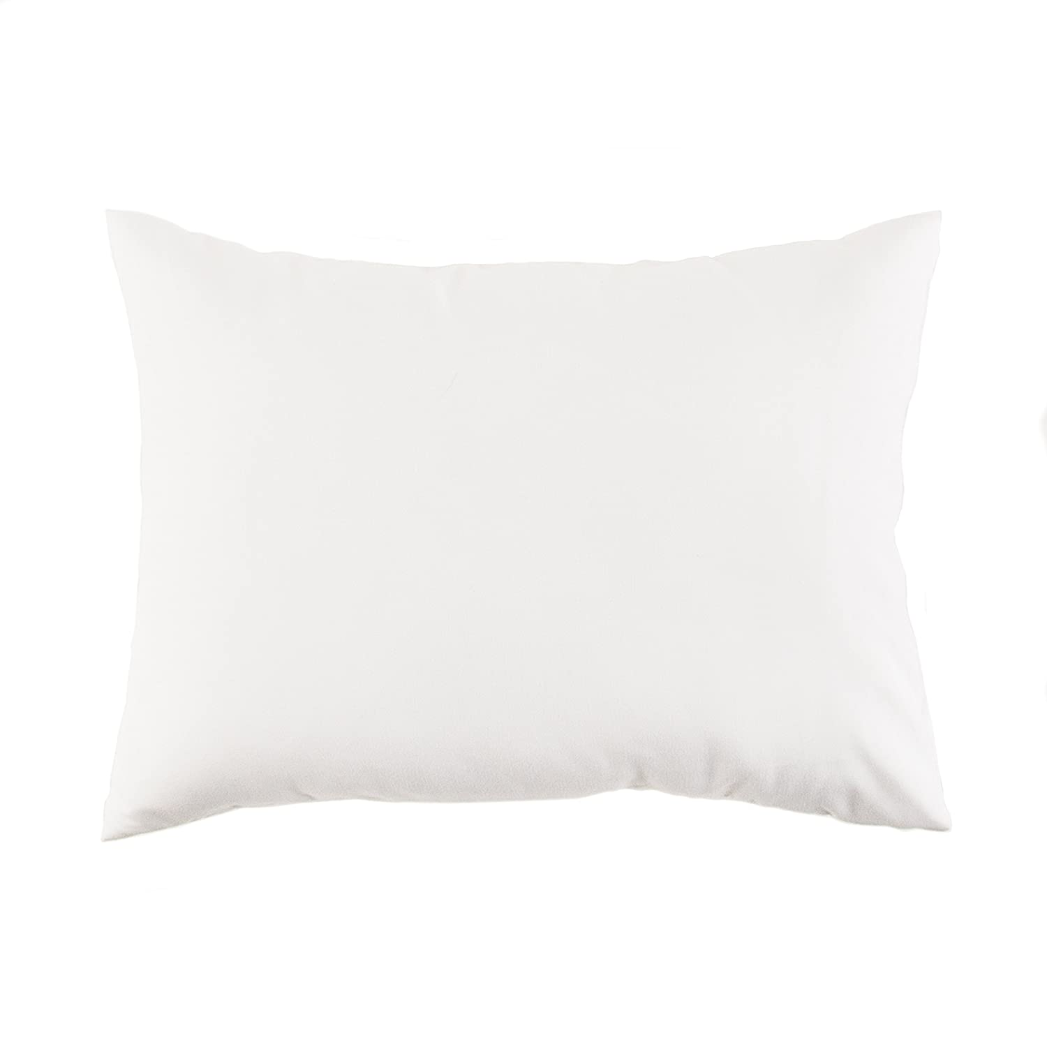 Tadpoles Toddler Pillow with Case, White Sleeping Partners tplwmf009