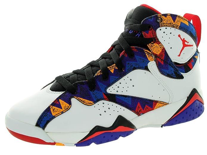 Nike Air Jordan 7 Retro BG White/Black/Red 304774-142 (SIZE: 3.5Y):  Amazon.ca: Shoes & Handbags
