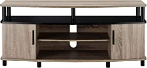 Amazon Com Ameriwood Home Carson Tv Stand For Tvs Up To 50 Sonoma Oak Furniture Decor