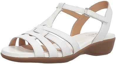 19c47f9a985f Amazon.com  Naturalizer Women s Nanci Flat Sandal  Shoes