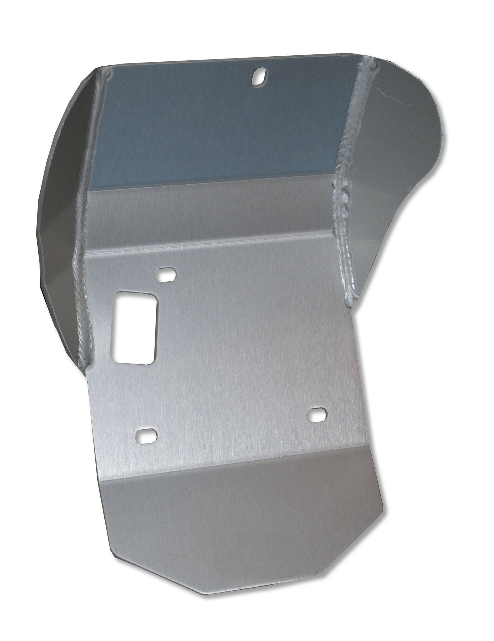 Honda CRF230L Skid Plate 3/16'' 5052 H-32 Aluminum. Mounting hardware included. by Ricochet for 2008, 2009, 2010, 2011, 2012, 2013, 2014, 2015, 2016, 2017 Model