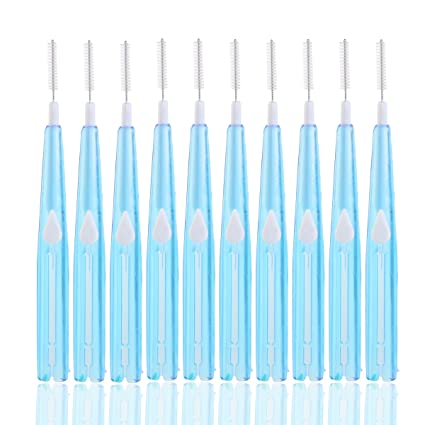 KAIMENG Oral ortodoncia Dental palillo Interdental entre los dientes del cepillo Kit - 8Pcs