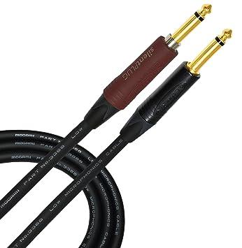 5 Metro Cable Mogami 3368 Silencioso Neutrik toma chapado en oro débil Capacitance; Alta Performance