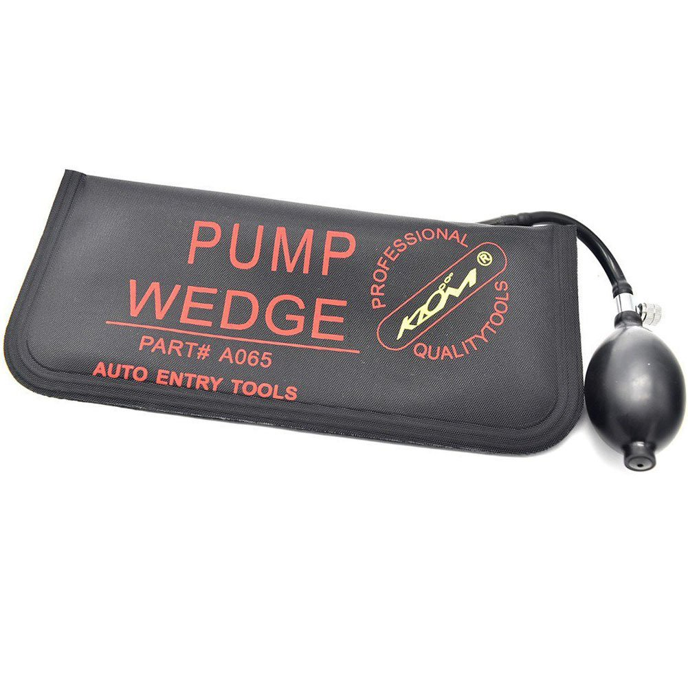1 Pcs Large Black Air Wedge Alignment Inflatable Tool Bag Set