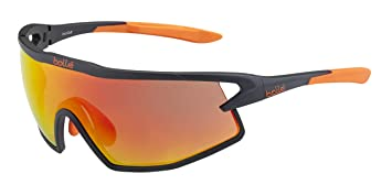Bollé (CEBF5) B-Rock Gafas, Unisex Adulto, Negro (Matte)