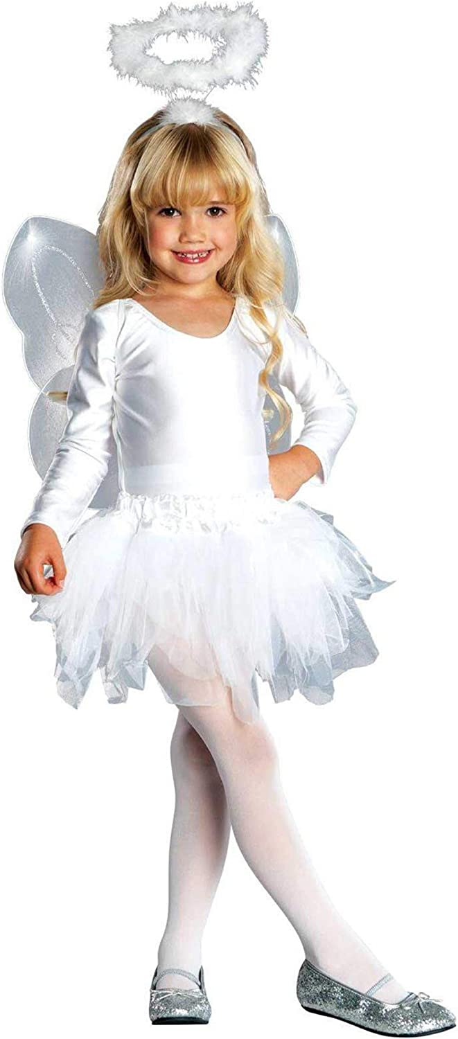 Angel Wings Adults Fairy Fancy Dress Costume Accessory Black White Multi