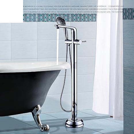 Kupfer Boden Tank Seite Bad Mixer Badewanne Wasserhahn Bad Armatur Kit Amazon De Baumarkt