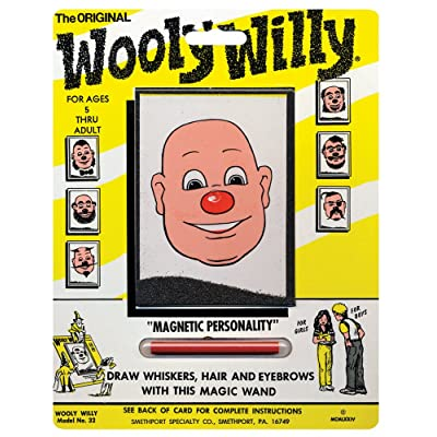 PlayMonster Magnetic Personalities - Original Wooly Willy: Toys & Games