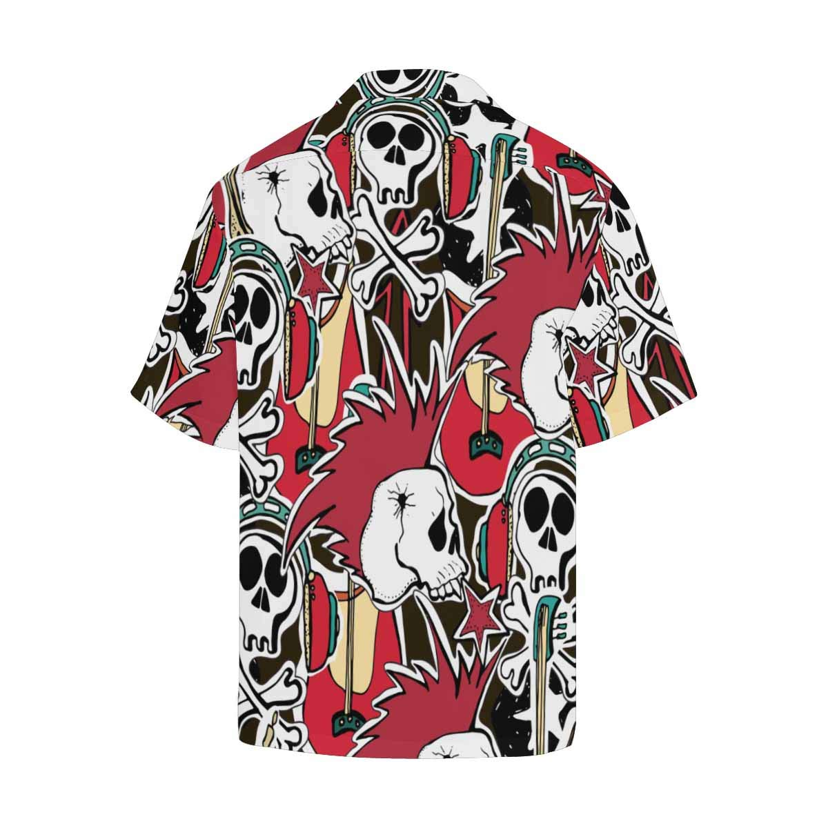 InterestPrint Mens Shirt Black Bicycle T-Shirts Short Sleeve Tops for Men