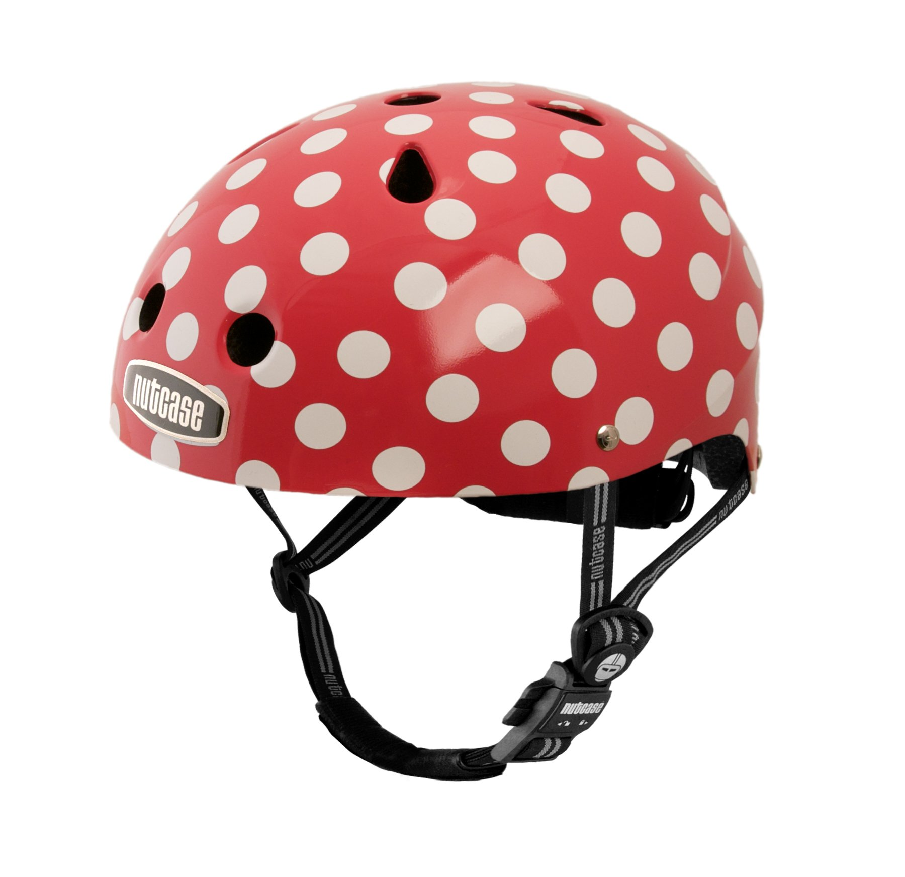 Nutcase Little Nutty Simi Mini Dots Bike Helmet, X-Small (46 cm-52 cm)