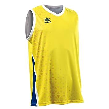 Luanvi Basket Cardiff Camiseta Deportiva sin Mangas de Baloncesto, Hombre: Amazon.es: Deportes y aire libre