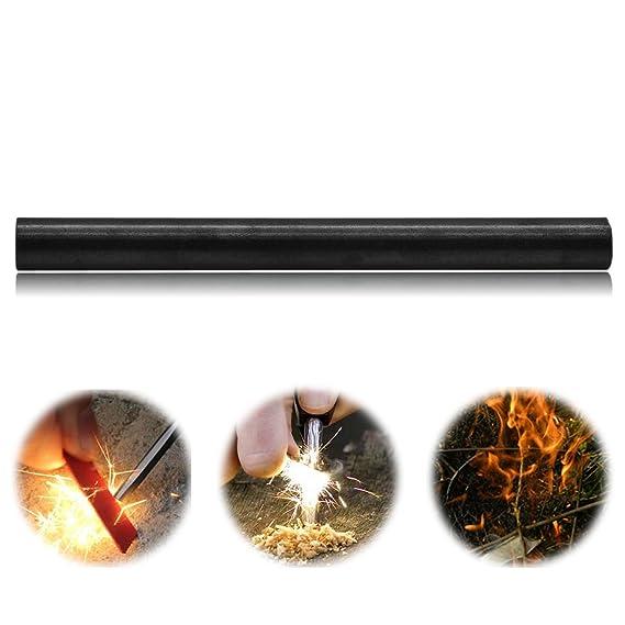 De XS a XXL magnesio Grenhaven fuego Pin hasta 15.000 disparos 10 cm de fuego pedernal Fire Starter Flint fuego de acero ligero que persigue a acampar al ...