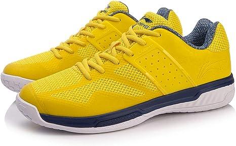 Li-Ning 2018 AYTN041-2 - Zapatillas de bádminton para Hombre, Color Amarillo, 7.0 US, AYTN041-2-Yellow: Amazon.es: Deportes y aire libre