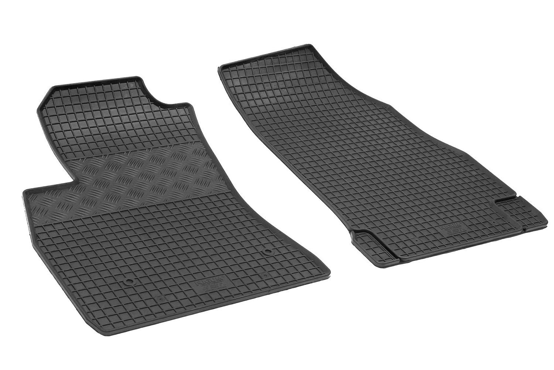 Velours Fußmatten Set für FIAT DOBLO Cargo 263 2010-2teilig Matten Autoteppiche