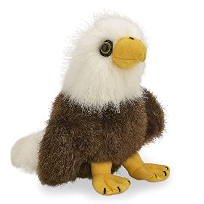 "Bearington Soar Stuffed Animal Bald Eagle Toy 6"": Toys & Games"