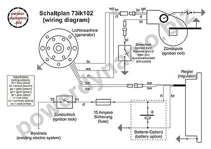 powerdynamo sistema de encendido Estator 77-on Yamaha DT 125 175 monoshock DC: Amazon.es: Coche y moto