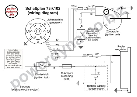 Amazon.com: Powerdynamo VAPE Ignition System Stator 77-on ... on