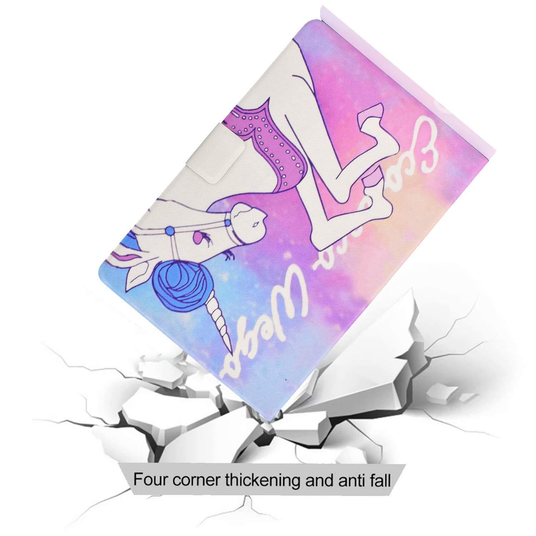 Lspcase Kindle Paperwhite 2018 Kreative Malerei Muster Handyh/ülle Schutzh/ülle PU Leder Etui Case Brieftasche Ledertasche Tasche im Bookstyle f/ür Kindle Paperwhite 4 Baby Elefant
