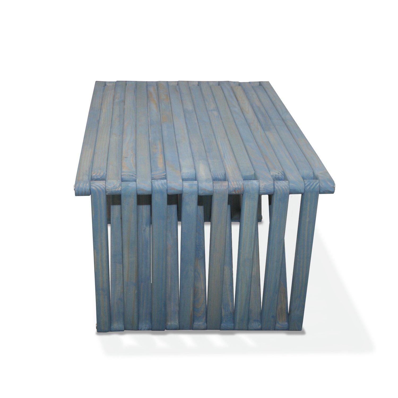 amazon com glodea x60 coffee table sky blue patio lawn u0026 garden