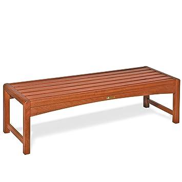 Banc de jardin, banc en bois 44 x 120 x 30 cm, banc de bois mod ...