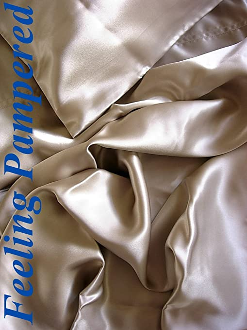 Bed Linens & Sets Pillow Cases New Luxurious 100% silk charmeuse Fitted sheets Queen by Feeling Pampered