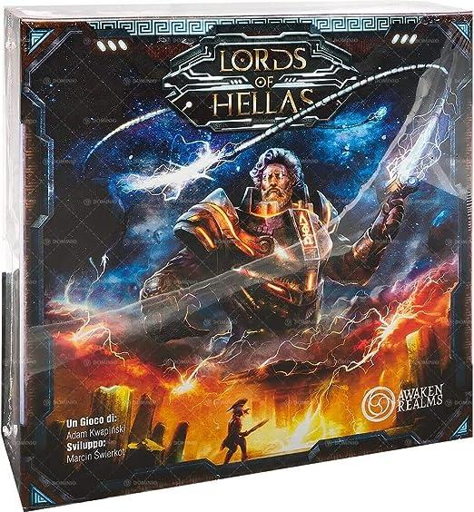 Asmodee Italia Lords of Hellas juego de mesa, Color Negro, 10500 , color/modelo surtido: Amazon.es: Juguetes y juegos