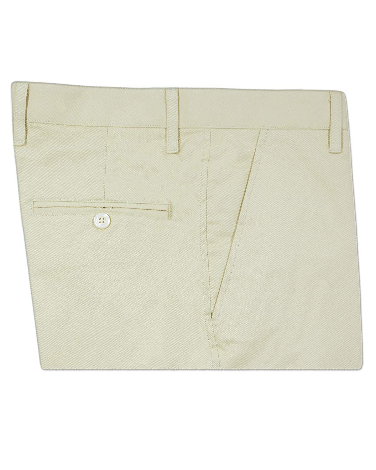 French crown Oat Cream Regular fit Cotton Trouser