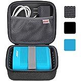 BOVKE for Soundlink Color II/UE ROLL 360 Wireless Speaker Hard EVA Shockproof Carrying Case Storage Travel Case Bag…