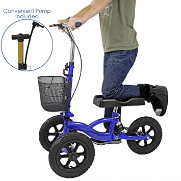 Amazon com: Clevr All Terrain Foldable Medical Steerable