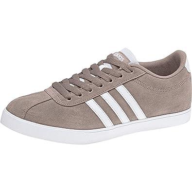 Courtset Ftwwht Chaussures De vapor Adidas Femme 000 Tennis Gris SqAS0d