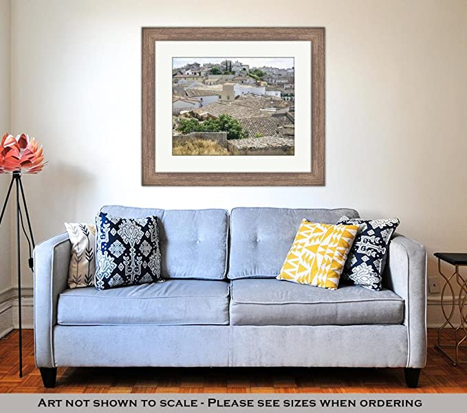 Amazon.com: Ashley Framed Prints View from Upper Side of ...