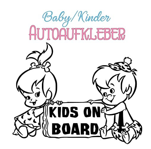 Baby Kinder Autoaufkleber Sticker Kids On Board Freie Grossen