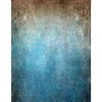 1,5 x 2,1 m dégradé gris bleu Couleur Photographie toiles de fond en ...