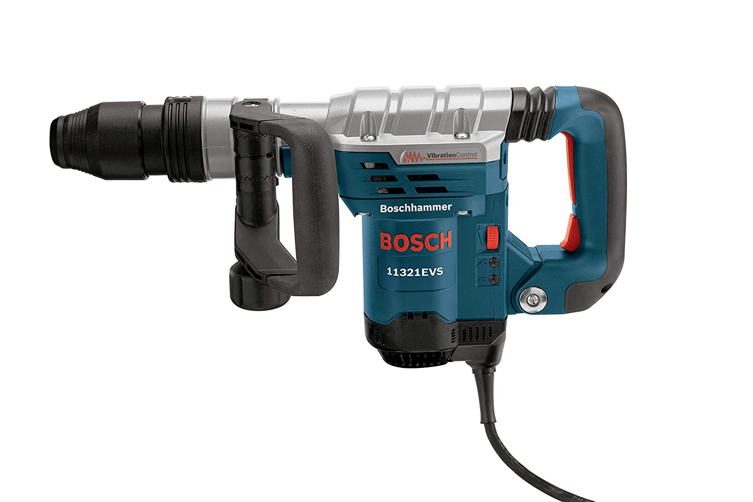 Bosch 11321EVS Demolition Hammer - 13 Amp 1-9/16 in. Corded Variable Speed SDS-Max Concrete Demolition Hammer with Carrying Case 81Zploy54vL