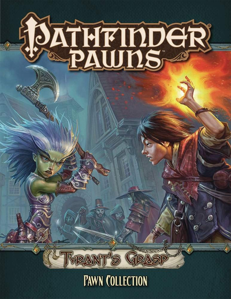Pathfinder Pawns: Tyrants Grasp Pawn Collection: Amazon.es: Staff, Paizo: Libros en idiomas extranjeros
