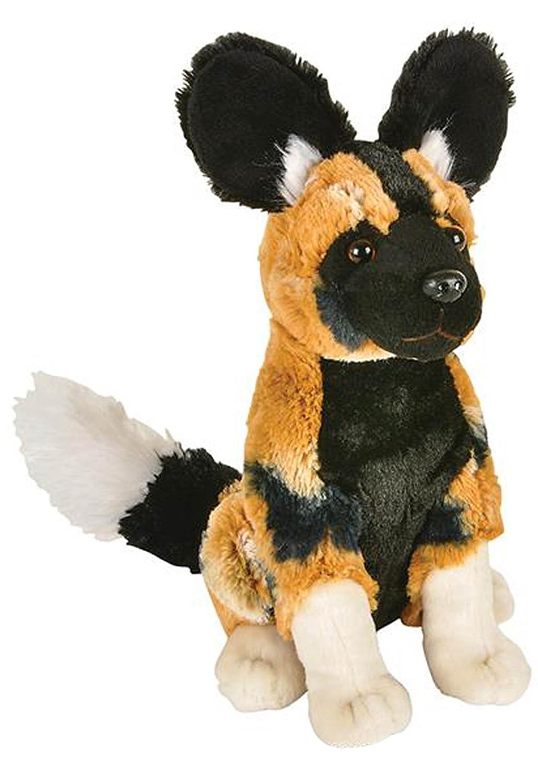 Amazon Com Wildlife Tree 8 African Painted Dog Stuffed Animal