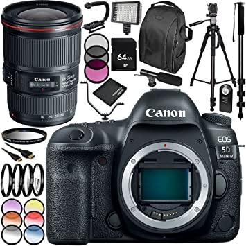 Amazon.com: Canon EOS 5d mark IV Cámara réflex digital con ...