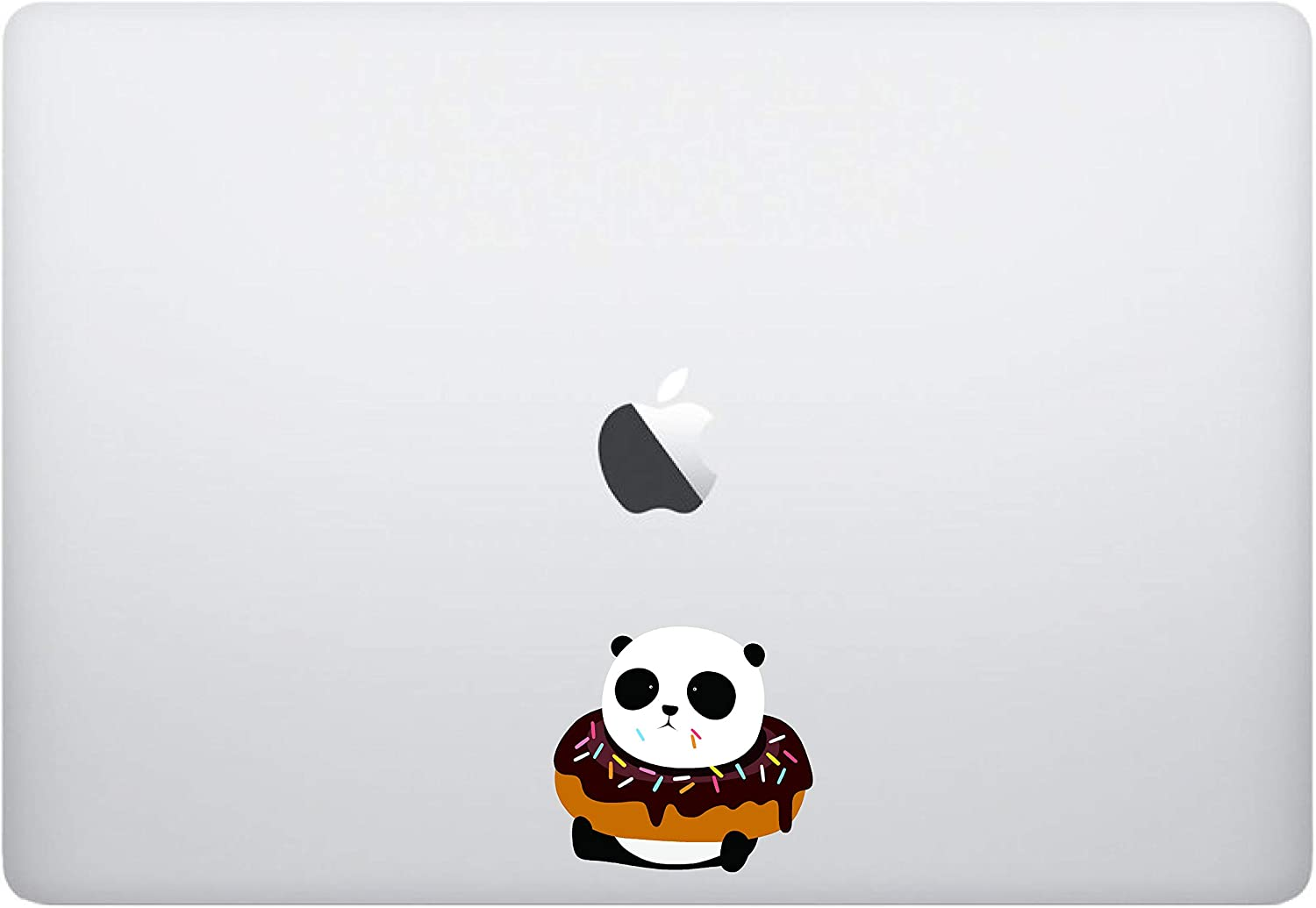 Laptop Sticker Decal - Panda Donut- Skins Stickers